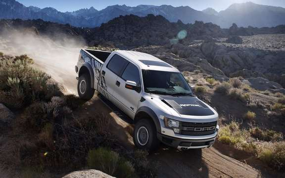 Ford F-150 SVT Raptor 2011: New version CAB