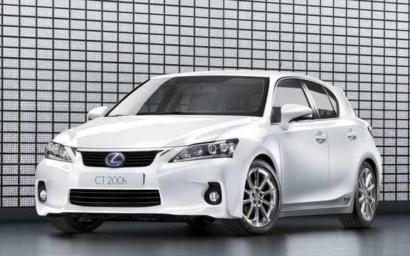2011 Lexus CT 200h: With four selectable driving modes