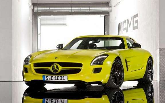 Mercedes SLS AMG E-Cell: Already in prototype form picture #3