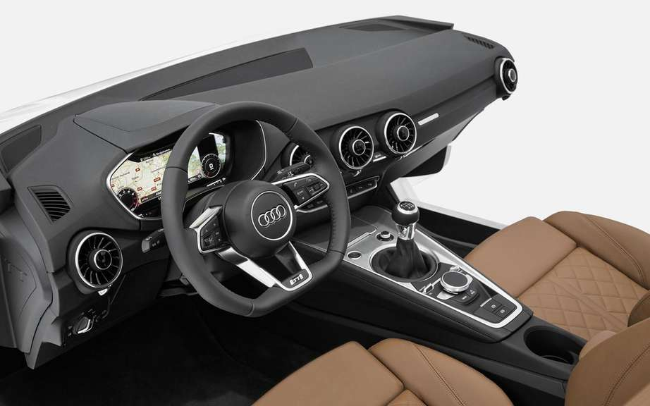 Audi unveiled the interior of the future TT picture #3