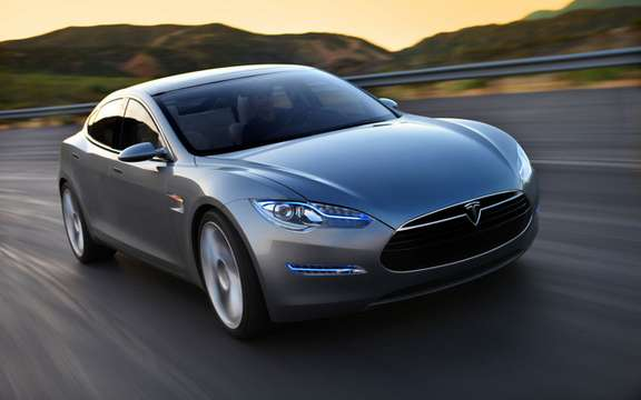 Tesla Motors jumps in exchange