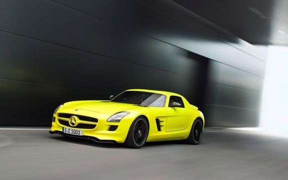 Mercedes SLS AMG E-Cell: Already in prototype form picture #4