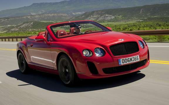 A new Bentley every 18 months