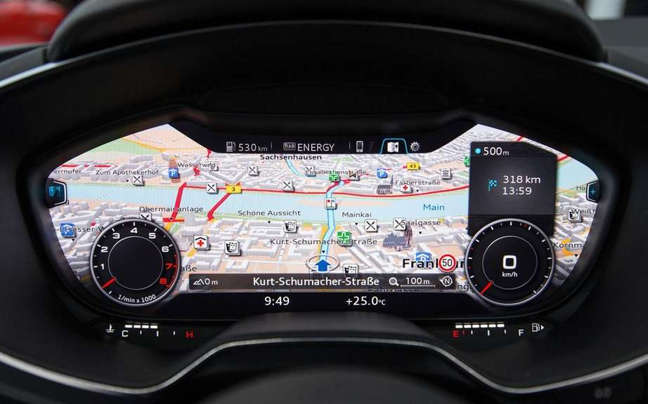 Audi unveiled the interior of the future TT picture #4