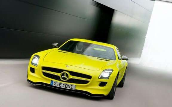 Mercedes SLS AMG E-Cell: Already in prototype form picture #5