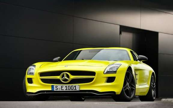 Mercedes SLS AMG E-Cell: Already in prototype form picture #6