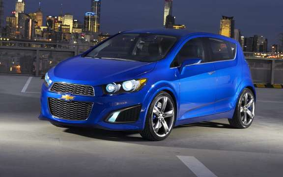 Chevrolet Aveo and / or Spark: We'll have two