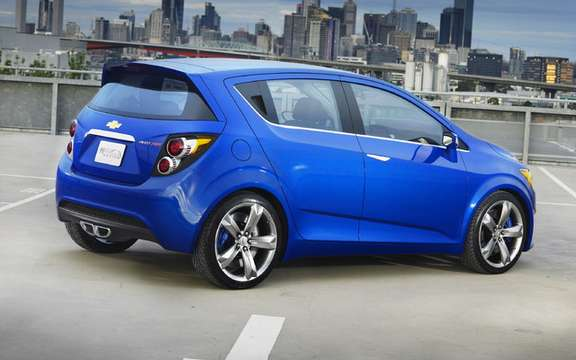 Chevrolet Aveo and / or Spark: We'll have two picture #2