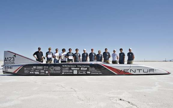 Venturi Jamais Contente: World record for an electric car picture #3