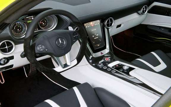 Mercedes SLS AMG E-Cell: Already in prototype form picture #10