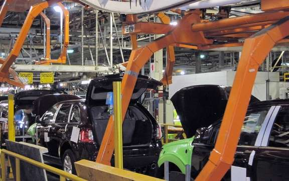 Ford uses the Wi-Fi technology on its assembly lines