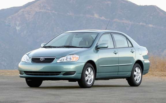 Toyota Corolla and Matrix 2005 2008 Recall 136,000 vehicles in Canada