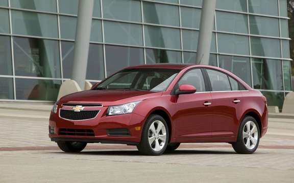 2011 Chevrolet Cruze: More than 270,000 units sold even before its release