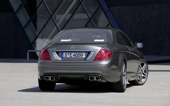 Mercedes-Benz CL63 AMG: Aggressiveness included picture #3