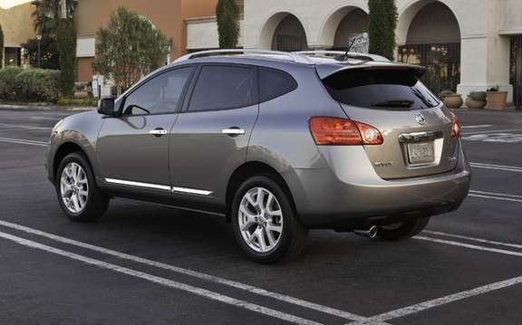 2011 Nissan Rogue: Deja 4th generation which promises picture #2