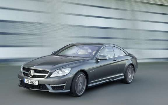 Mercedes-Benz CL63 AMG: Aggressiveness included picture #4