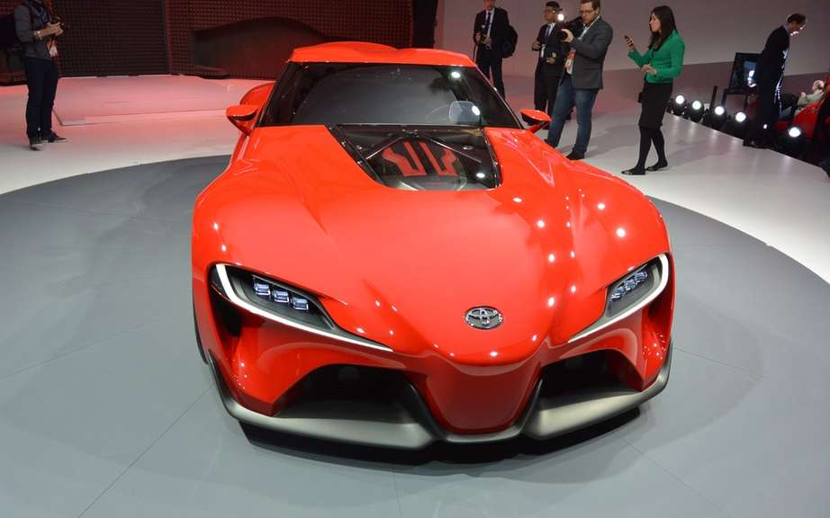 Toyota FT-1 Concept: BMW wait! picture #10