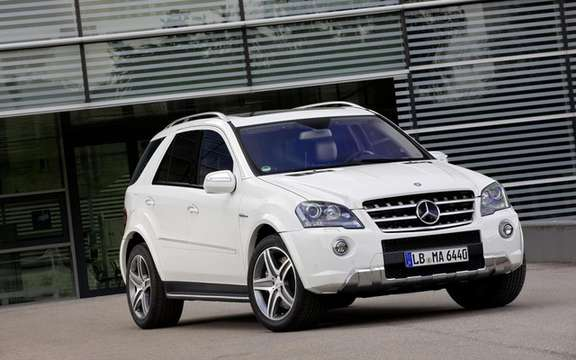Mercedes-Benz ML63 AMG: More aggressive style?