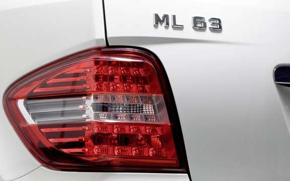 Mercedes-Benz ML63 AMG: More aggressive style? picture #4