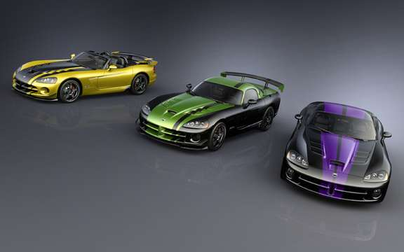 Dodge Viper SRT10: Versions concocted with dealers
