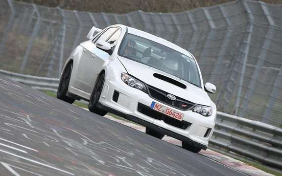 Subaru WRX STI sedan 2011: In theaters this summer