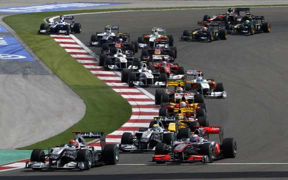 Mercedes-Benz Canada is the official sponsor of the Grand Prix 2010