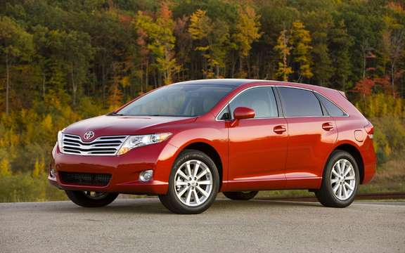Toyota Highlander and Venza 2010 won the award for