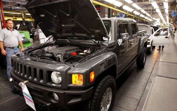 The last Hummer out of the factory in Shreveport