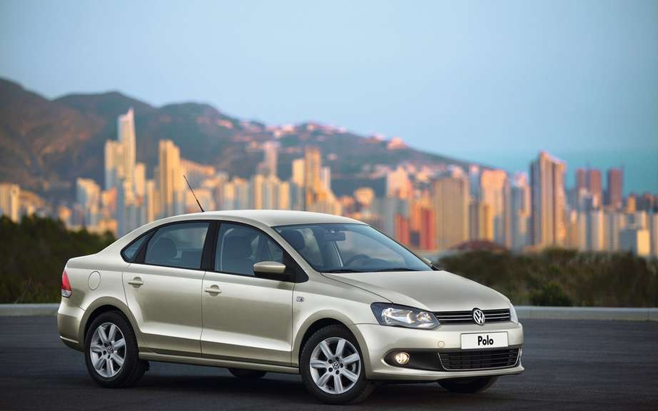 Volkswagen Polo Saloon: World Premiere in Moscow