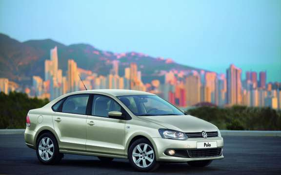 Volkswagen Polo Saloon: World Premiere in Moscow picture #2