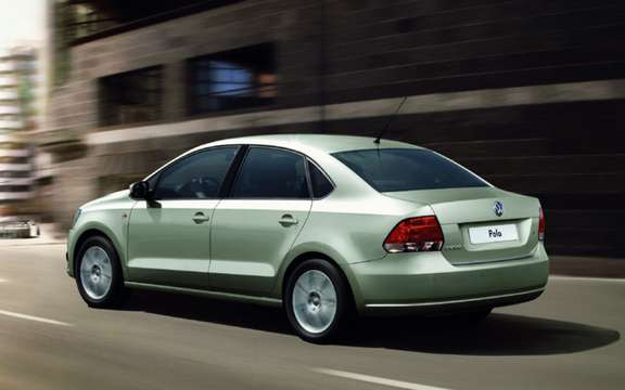 Volkswagen Polo Saloon: World Premiere in Moscow picture #3