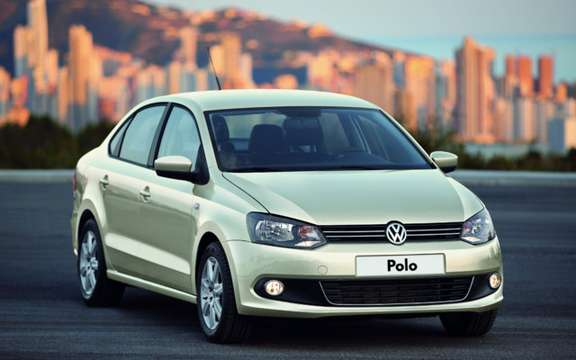 Volkswagen Polo Saloon: World Premiere in Moscow picture #4