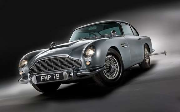 Aston Martin DB5 1964: The Bondmobile is for sale picture #2