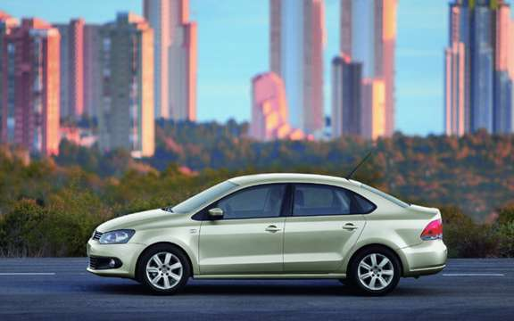 Volkswagen Polo Saloon: World Premiere in Moscow picture #5