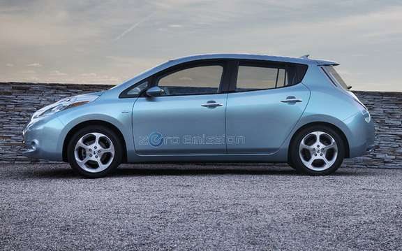 2011 Nissan LEAF: Offered in 2011 by Communauto