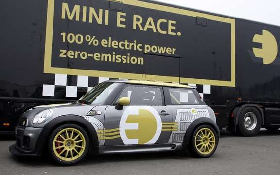 Mini E Race: 187 km / h without polluting picture #2