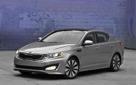 Kia Optima 2011: It will replace the Magentis