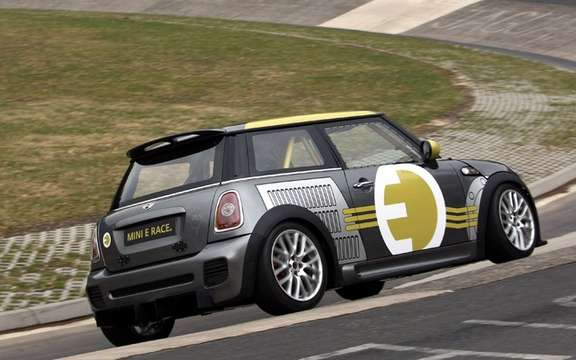 Mini E Race: 187 km / h without polluting picture #4
