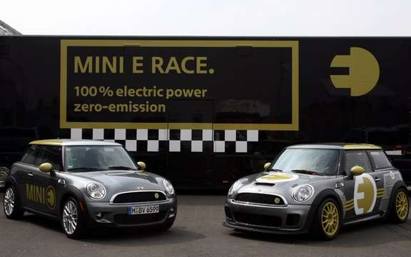 Mini E Race: 187 km / h without polluting picture #6