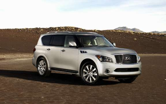 Infiniti QX 56 2011: From $ 73,000 as in 2010