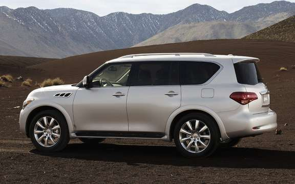 Infiniti QX 56 2011: From $ 73,000 as in 2010 picture #2