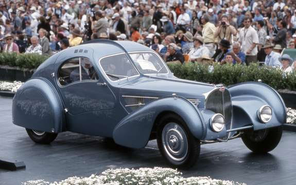 Bugatti 57SC Atlantic 1936 Highly record book
