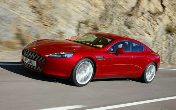 Aston Martin Rapide: The No1 leaves the factory in Graz
