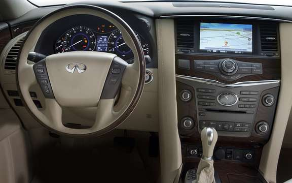Infiniti QX 56 2011: From $ 73,000 as in 2010 picture #4