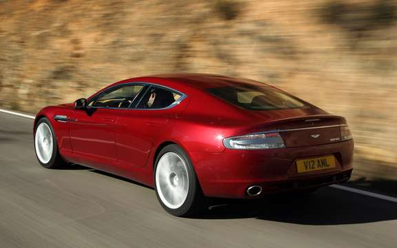 Aston Martin Rapide: The No1 leaves the factory in Graz picture #2