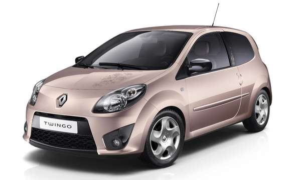 Renault Twingo edition MissSixty Premiere French car 100% feminine picture #1