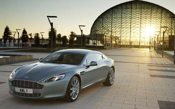 Aston Martin Rapide: The No1 leaves the factory in Graz picture #7