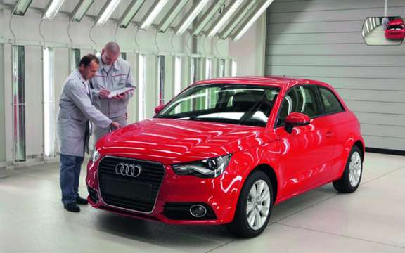 Audi A1: Start of production Brussels