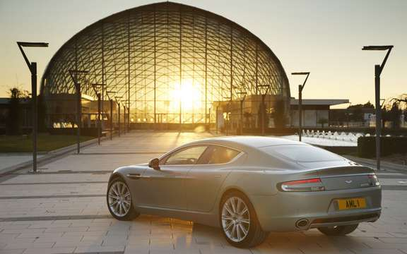 Aston Martin Rapide: The No1 leaves the factory in Graz picture #8
