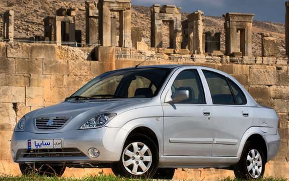 Saipa Tiba: first car entirely Iranian